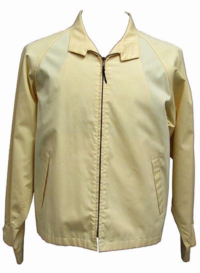 Cotton Jacket Label London Fog (1965) Gift of Marshall