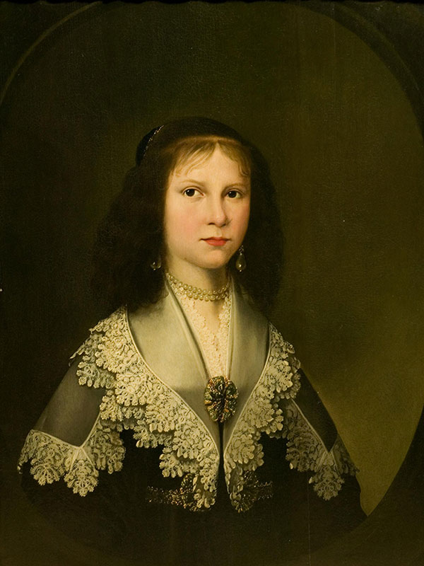 'A Young Girl Wearing a Lace Collar'; (1635) © Victoria and Albert Museum, London