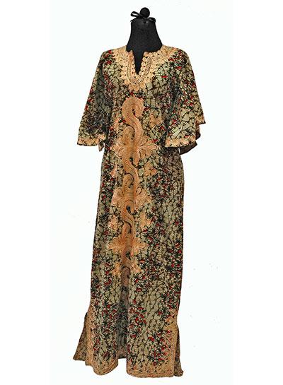African Cotton Kaftan (1960s) Gift of Freeman