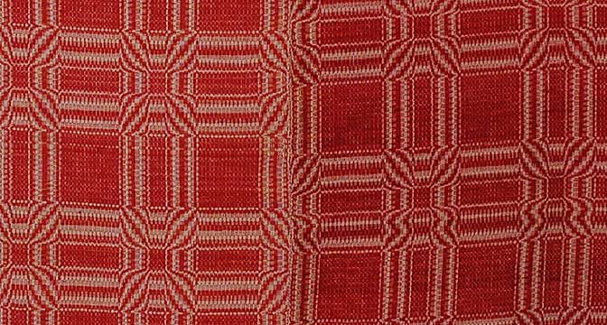 Cotton Coverlet; c. Mid 19th Century; Gift of Ray