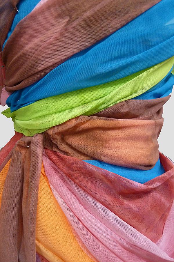 'Fugue' Dress by Amanda Lee and Molly Wainscott (Detail)