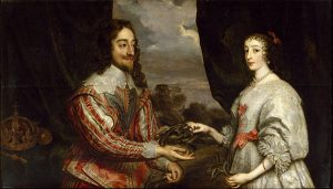 Charles I of England and Queen Henrietta Maria (17th Century) © Victoria and Albert Museum, London
