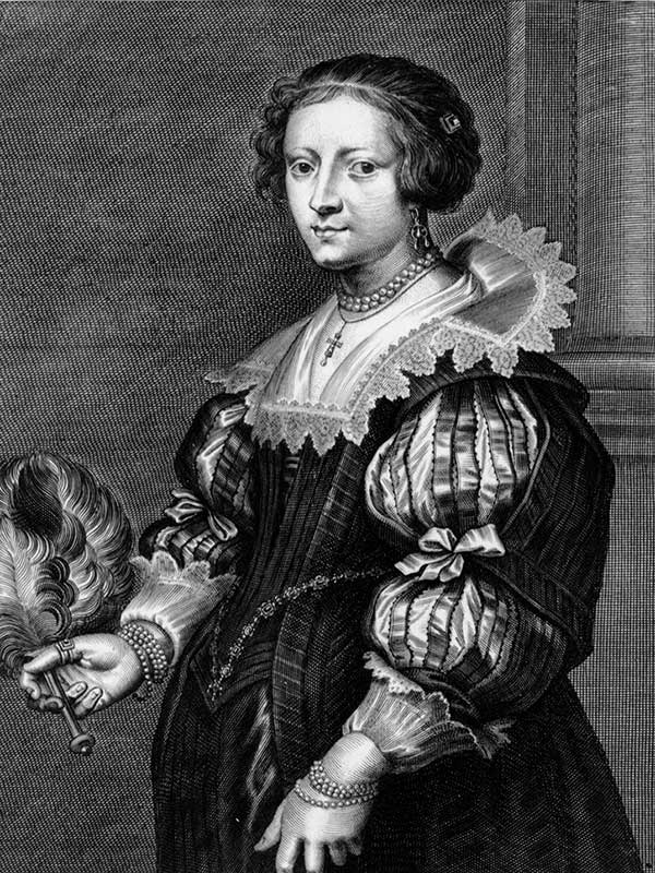 'Anna Wake', Print by Peeter Clouwet after Anthony van Dyck (Mid 17th Century) Museum of Art and Archaeology, University of Missouri