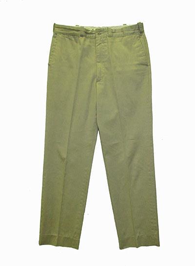 Khaki Cotton Pants (1967) Gift of Marshall