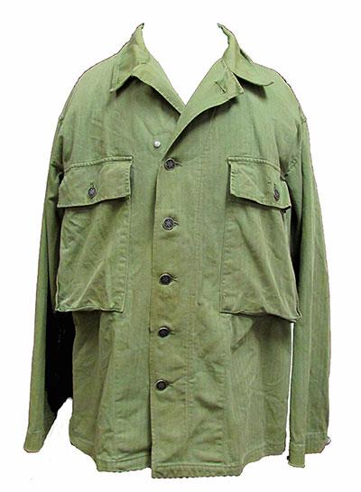 1960s Cotton Army Fatigue Jacket