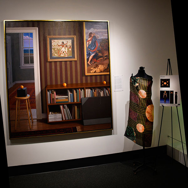 'Interior with Three Oranges' by Frank Holmes (1993) Museum of Art and Archaeology, University of Missouri