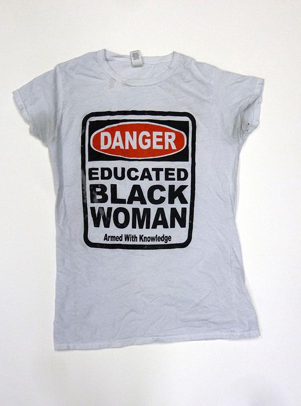 Danger: Educated Black Woman shirt