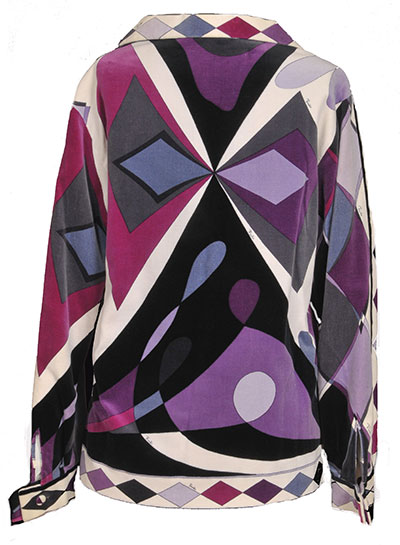 Cotton Velour Jacket by Emilio Pucci (1960s) Gift of Hearnes