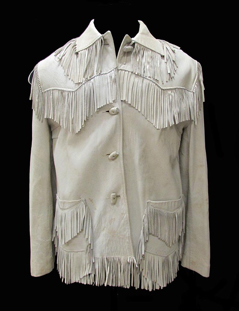 Fringed Leather Jacket (1960s) Gift of MU Theatre