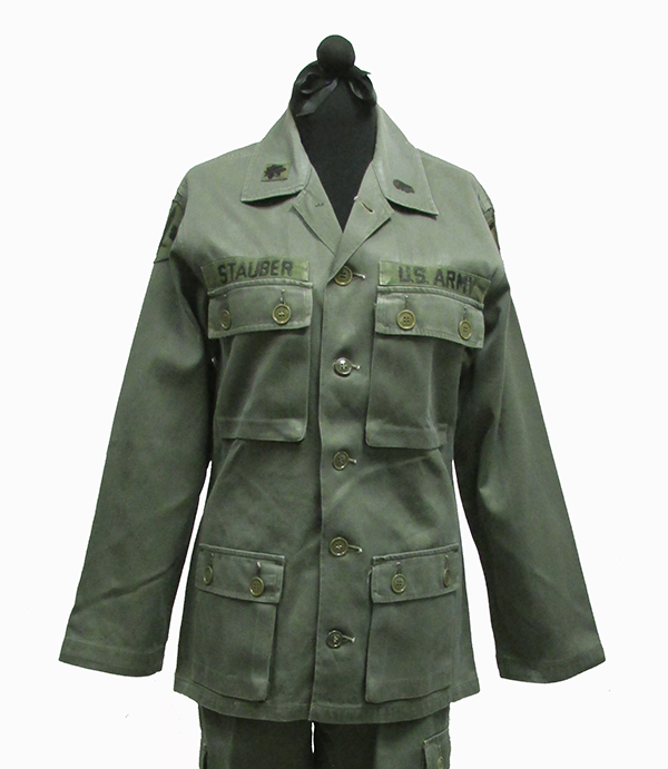 Cotton Non-Army Issued Military Fatigues, Vietnam War (1966-67)